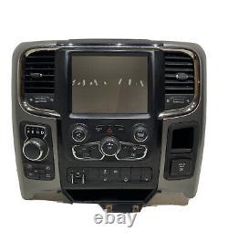 2013-2019 Dodge Ram 1500 2500 3500 Laramie Longhorn Radio Climate Dash Bezel Oem