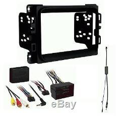 2013 2019 Ram Double Din Car Stereo Installation Dash Kit + Harness + Antenna