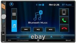 2013 And Up Ram Dual Bluetooth Usb Aux Sd Car Radio Stereo Package
