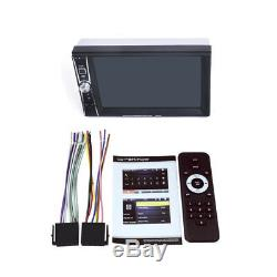 2DIN 6.6 Touch Screen Car MP5 Player USB FM Radio Stereo Video+Rear View Camera