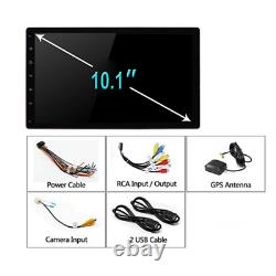 2Din 10.1in Android 9.1 Removable Screen Car GPS FM Stereo Radio WIFI MP5 Player