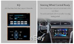2Din 7Android 10.0 Car Stereo Radio GPS Navi Head Unit Dash Mirror Link OBD+CAM
