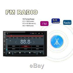 2Din Android 8.1 7 1080P Touch Screen Quad-Core Car Stereo Radio GPS Wifi OBD