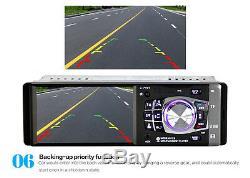 4.1 HD Car In-Dash Stereo Head Unit MP5 MP3 Player Bluetooth FM Radio AUX USB