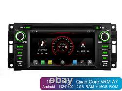 6.2 Android 10 Car DVD Stereo GPS Navi Radio Head unit for Jeep Dodge Chrysler
