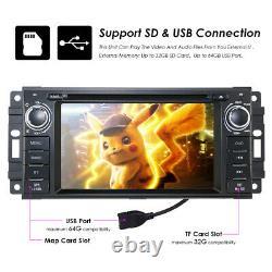 6.2 For Jeep Wrangler Chrysler Dodge Ram Car Stereo Radio GPS CD DVD USB Player