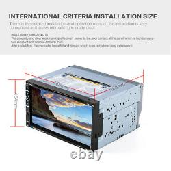 6.95 Full Touch Car Stereo Bluetooth Radio 2Din CD DVD Player GPS Nav USB/TF/FM