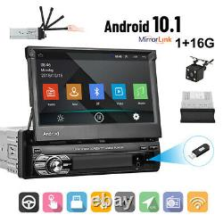 7 2DIN Car MP5 Player GPS Bluetooth Touch Screen Stereo Radio For Android/IOS
