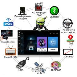 7'' 2Din Touch Screen Car Radio Stereo for Android 8.1 MP5 Player WiFi/GPS/USB