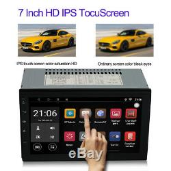 7'' Android 8.0 4G WiFi Double 2Din Car Radio Stereo GPS Navi Multimedia Player
