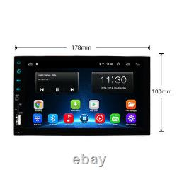 7'' Android 8.1 Bluetooth GPS USB Car Radio Stereo MP5 Player for iOS / Android