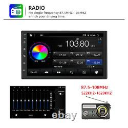 7 Android10 2+16G Car Radio Stereo GPS BT MP5 Player single Din WiFi Quad Core