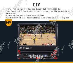 7 Single 1 Din HD Car Stereo DVD CD Player Bluetooth Radio +Backup Camera GPS