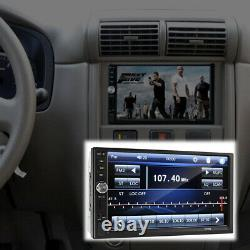 7 Touch Screen 2 Din Radio Audio Stereo Car Video Player with HD Camera Accessory