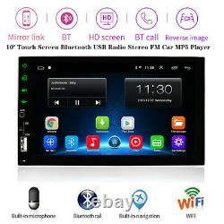 7''Touch Screen Bluetooth USB Radio Stereo FM Car MP5 Player for iOS / Android