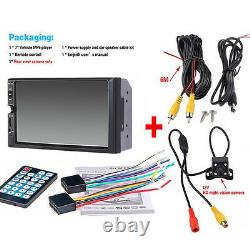 7inch 2DIN Car MP5 Player Touch Screen Stereo Radio HD + Rear Camera