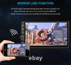 7inch Android 8.1 Quad-core Car Stereo GPS Navigation Radio Player 2Din WIFI