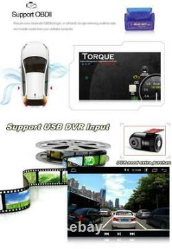 8in Car Stereo MP5 Player Mirror Link WIFI Bluetooth GPS FM Radio 2DIN Quad Core