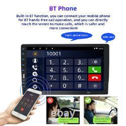 9'' 1DIN Apple carplay android auto single Car Radio Stereo BT MP5 Player