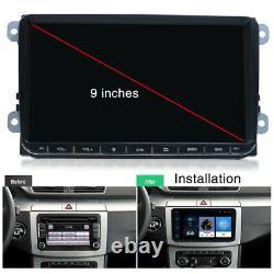 9 2Din Android 9.1 Car Stereo Radio Player MP5 GPS Nav Wifi Quad Core 1GB+16GB
