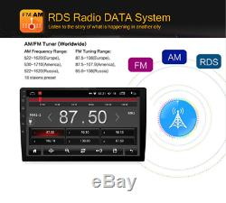 9 2Din Quad-Core 1+16G Car Stereo Radio GPS Wifi DVD 4G LTE DAB Mirror Link OBD