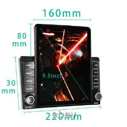 9.5 inch Vertical HD Screen Carplay Android 9.1 Radio Stereo GPS Navi MP5 Player