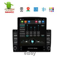 9.7'' 1DIN Android 9.1 Car Stereo Radio GPS MP5 Multimedia Player Wifi Hotspot R
