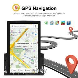 9.7 HD Vertical Screen HD Car MP5 Player Android 9.0 Stereo Radio GPS Nav WIFI