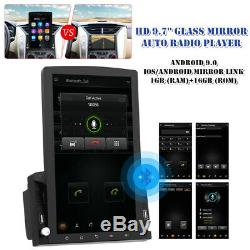 9.7 Vertical Screen Touchable Android 9.0 HD 1+16GB Car Stereo Radio GPS Player