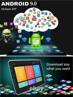 9 Rotatable Touch Screen Android 9.0 Quad Core Car Stereo Radio Video GPS 1+16G