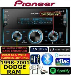 98 99 00 01 Dodge Ram Am/fm Bluetooth Usb Aux Mp3 Car Radio Stereo Pkg