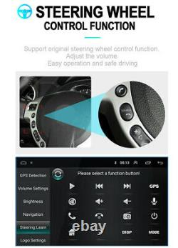 Adjustable 9in Android 8.1 Single Din Car Stereo Radio GPS Wifi BT DAB OBD 1+16G
