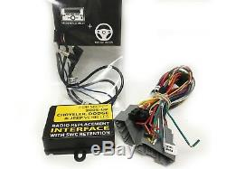 Aftermarket Radio Amp Integration Canbus Vehicles w Steering Wheel Control DDG1A