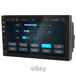 Android 8.1 Double 2Din Car Stereo Radio GPS Nav Wifi no DVD DAB in Dash Map BT