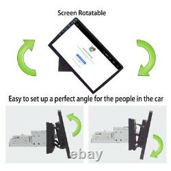 Android 8.1 Single Din 10.1 HD Quad-Core Car Stereo Radio GPS Wifi Mirror Link