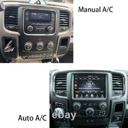Android 9.0 Vertical Big Screen GPS Radio For Dodge RAM 1500 2500 3500 2013-2019