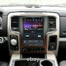 Android 9.0 Vertical Screen Car GPS Radio For Dodge Ram 1500 2500 3500 2013-2018