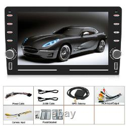 Android 9.1 8 inch 2.5D Car MP5 Player Touch Screen Stereo Radio GPS Bluetooth