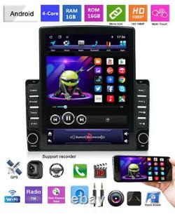 Android 9.1 9.7 2Din Car Stereo Radio MP5 Player GPS Navigation Wifi OBD DAB