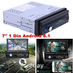 Android 9.1 HD 7inch 1DIN Car Stereo Radio Player WIFI GPS Mirror Link DVR OBD