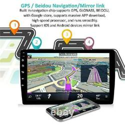Android 9.1 Mirror Link Bluetooth WIFI GPS Radio Quad Core Head Unit Fit For Car