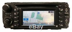CHRYSLER JEEP DODGE GPS Navigation LCD Display RDS INFINITY Radio CD Player RB1