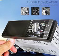 Car 4.112V Bluetooth Stereo Radio HD MP5 MP3 USB AUX Player Camera FM Audio Kit