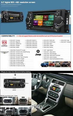 Car DVD GPS Radio Stereo for Jeep compass Patriot Dodge Dakota Durango Caliber