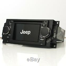 Car DVD Radio Navigation for Jeep Compass Dodge Ram Chrysler 300C Free Camera