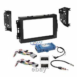 Car Radio Stereo Dash Kit Steering Wheel Interface for 04+ Chrysler Dodge Jeep