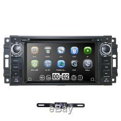 Car Radio Stereo for Chrysler/Jeep/Dodge RAM DVD GPS Headunit + Rearview Camera