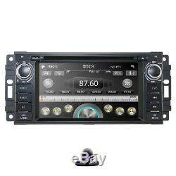 Car Stereo Radio DVD Player GPS for Jeep Wrangler Unlimited Dodge RAM 2009-2011