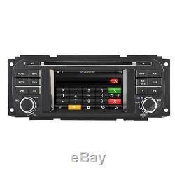 Car Stereo Radio GPS Headunit For Jeep Grand Cherokee Liberty Dodge Ram Chrysler