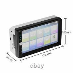 Car Video MP5 Player 2 Din Touchscreen FM Bluetooth Radio Audio Stereo Camera